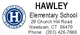 Hawley logo with address